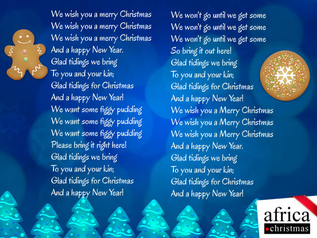 Merry Christmas to you and happy New Year :) | africa.christmas